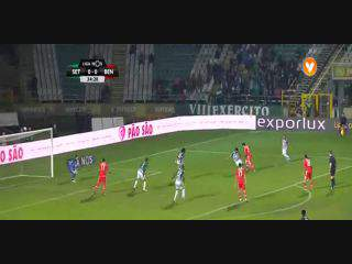 Benfica, Golo, Pizzi, 34m, 0-1