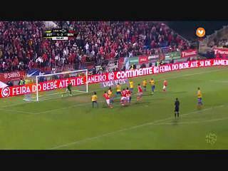 Benfica, Jogada, Jardel,  85m