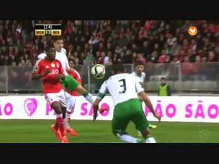 Liga (22ª J): Resumo Moreirense 1-3 Benfica