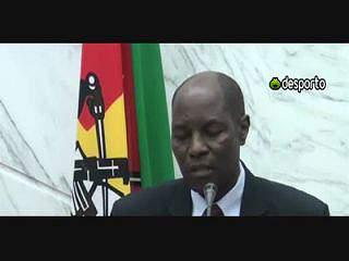 Luto nacional em Moçambique pela morte de Coluna