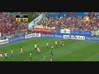 Benfica, Jogada, Jardel, 39m