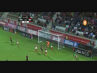 Benfica, Jogada, Pizzi, 21m