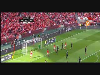 Benfica, Jogada, Luisão, 3m