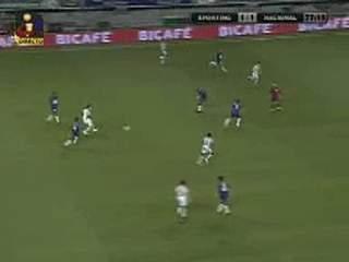 Sporting, golo Bueno, 77 min, 2-1
