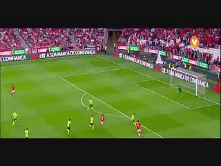 Benfica, Jogada, Jimenez, 38m