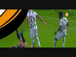 Sporting, Jogada, B. Ruiz, 11m