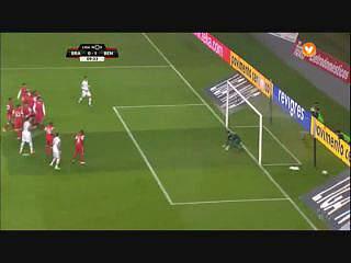 Liga (11ª J): Resumo Braga 0-2 Benfica