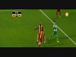 Sporting, Jogada, Montero, 27m