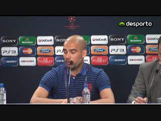 Guardiola «É um orgulho estar aqui»