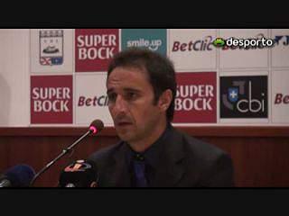 V. Pereira «É sempre um estímulo estar na frente»