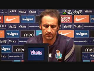 Vítor Pereira já pensa no Benfica