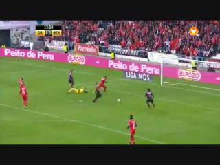 Benfica, Golo, Maxi Pereira, 14m, 0-1