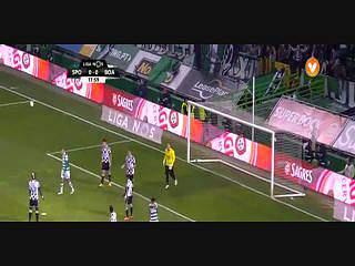 Sporting, Jogada, T. Gutiérrez, 18m