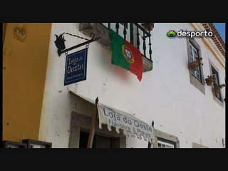 Óbidos ainda pouco vibrante com a seleção nacional