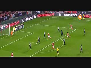 Benfica, Jogada, Sálvio, 44m