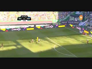 FC Porto, Jogada, André Silva, 17m