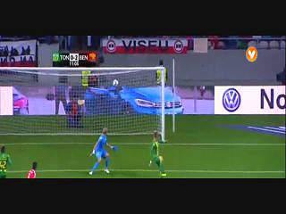 Liga (9ª J): Resumo Tondela 0-4 Benfica