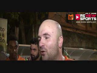 P.Amarelas vs Roff - Flash Interview aos Campeões Roff