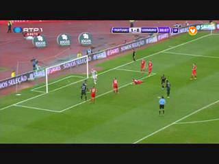 Portugal, Golo, Nani, 37m, 2-0