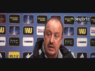 Rafa Benitez «Uma final é sempre especial»