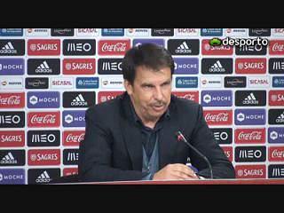 Manuel Machado: «Benfica ganhou com justiça»