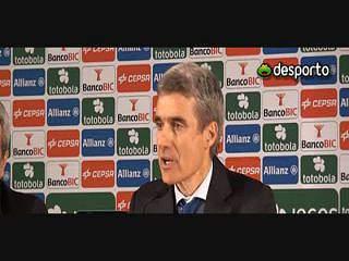 """Luís Castro """"Esta equipa não é assim tão má como andaram a apregoar"""""""