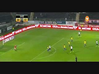 V. Guimarães, Golo, Ricardo Valente, 15m, 1-0