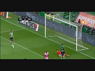 Sporting, Jogada, Bas Dost, 17m