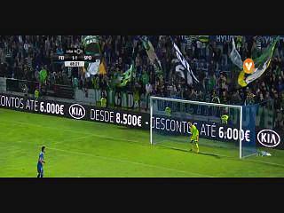 Feirense, Golo, Tiago Silva, 69m, 2-1