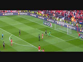 Benfica, Caso, Pizzi, 62m