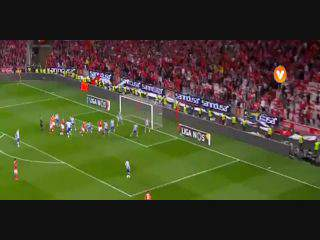 Benfica, Jogada, Luisão, 73m