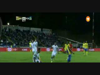 Arouca, Golo, Maurides, 83m, 1-3