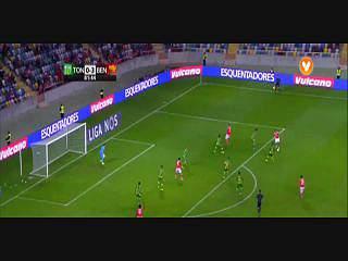 Benfica, Golo, Carcela, 82m, 0-4