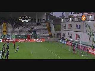 Resultado ao Intervalo – Moreirense 1-3 V. Guimarães