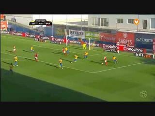 Sp. Braga, Golo, Pedro Santos, 15m , 0-1