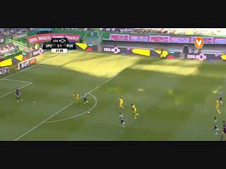 Sporting, Jogada, Adrien Silva, 32m