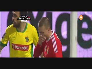 Benfica, Jogada, Lindelof, 43m