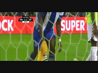 FC Porto, Jogada, Aboubakar, 5m