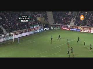 Sporting, Jogada, Montero, 9m