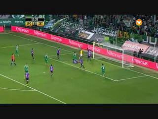 I Liga (11.ª J): Resumo Sporting 3-0 V. Setúbal