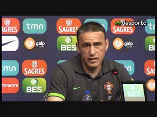Paulo Bento: «Amanhã teremos uma equipa pronta para competir»