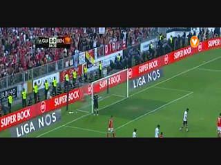 Benfica, Jogada, Gaitán, 85m