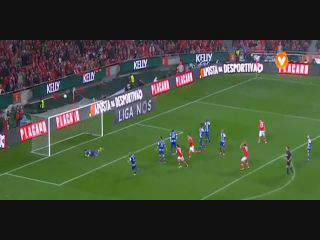 Benfica, Jogada, Jonas, 34m