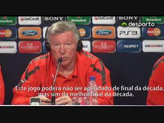 Alex Ferguson «Esta é a melhor final da década»