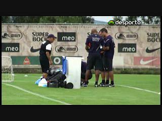 Falcao e Guarín regressam aos treinos no Olival