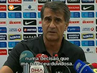 """Senol Gunes - """"também é perigoso para o Benfica"""""""