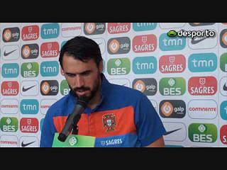 Hugo Almeida «Não pode haver erros»
