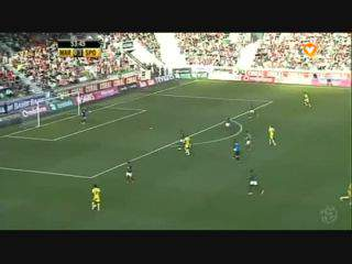 Sporting, Jogada, Slimani, 54m