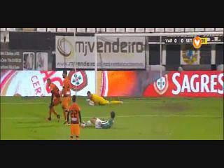 Taça da Liga (Fase de grupos): Resumo Varzim 1-0 V. Setúbal