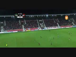 Liga (12ªJ): Resumo Marítimo 2-1 Benfica
